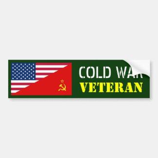 冷戦の退役軍人 バンパーステッカー