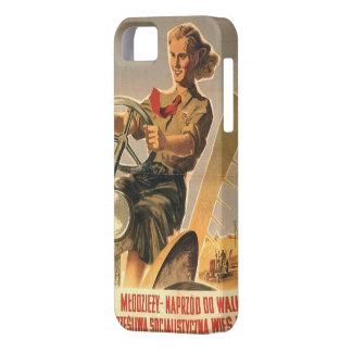 冷戦時代のポーランド人のプロパガンダ iPhone SE/5/5s ケース