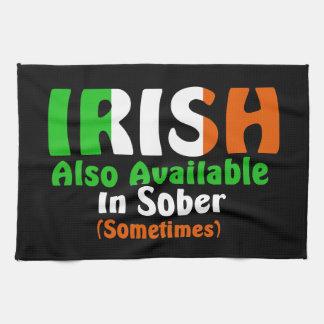 冷静で利用できるまたアイルランド語 キッチンタオル