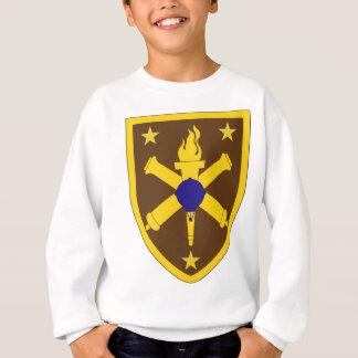 准尉のキャリアの中心 スウェットシャツ