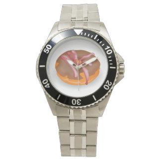凍らされたドーナツ腕時計 腕時計