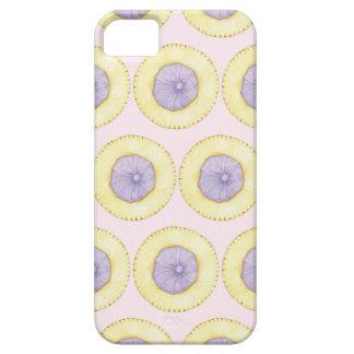 凍らされた宝石のビスケットの電話箱-パステル調ピンク iPhone SE/5/5s ケース