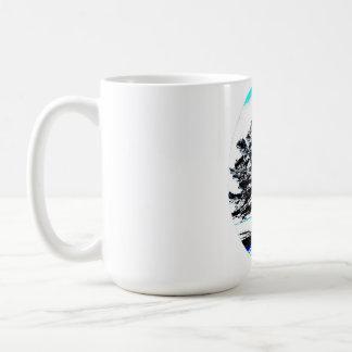 凍結するマツ芸術 コーヒーマグカップ