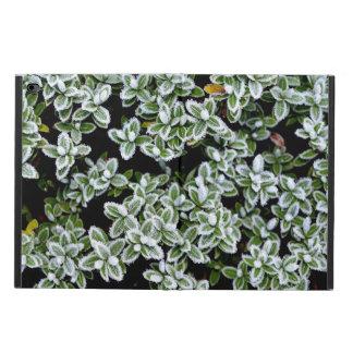凍結する冬の植物 POWIS iPad AIR 2 ケース