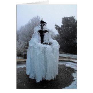 凍結する噴水 カード