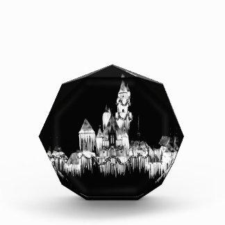 凍結する城- B&W 表彰盾
