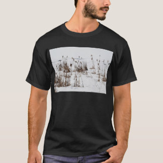 凍結する湖のホタルイ Tシャツ