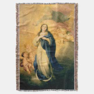 処女懐胎の聖母マリアの仮定02 スローブランケット