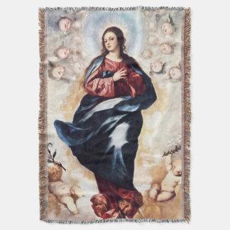 処女懐胎の聖母マリアの仮定03 スローブランケット