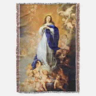 処女懐胎の聖母マリアの仮定04 スローブランケット