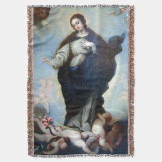 処女懐胎の聖母マリアの仮定05 スローブランケット