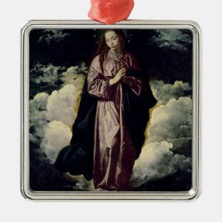 処女懐胎、c.1618 メタルオーナメント