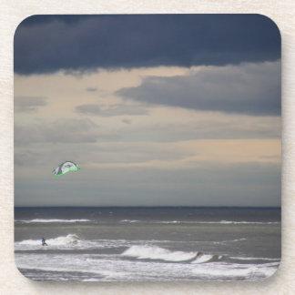 凧のサーファーのコースター コースター