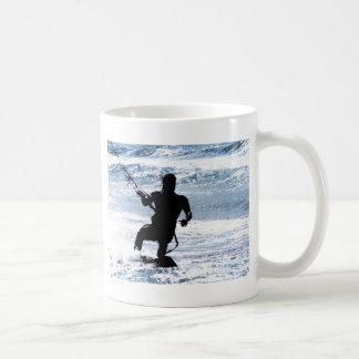 凧のサーフィン コーヒーマグカップ