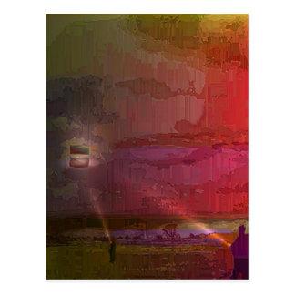 凧のフライヤ ポストカード
