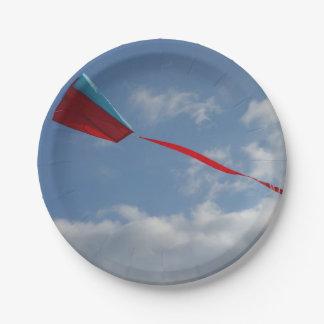 凧の紙皿 ペーパープレート