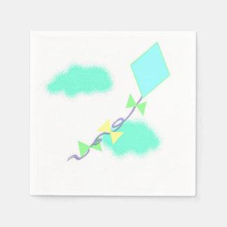 凧の飛行 スタンダードカクテルナプキン