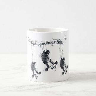 凧のLandboardingのマグ コーヒーマグカップ