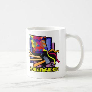 凧5はえは行きます コーヒーマグカップ