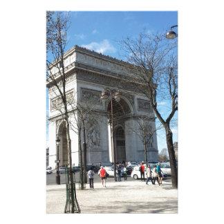 凱旋門、パリ、フランス 便箋