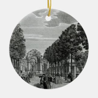 凱旋門、南のHandelの彫像 セラミックオーナメント