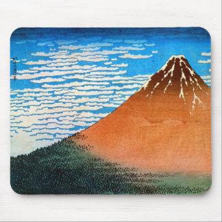 凱風快晴の(の赤富士の)、北斎赤い富士山、Hokusai、Ukiyo-e マウスパッド