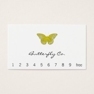 凸版印刷のスタイルの蝶 名刺