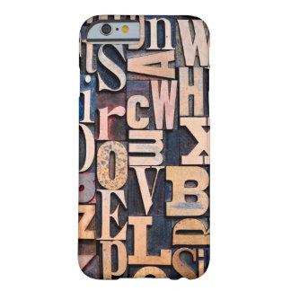 凸版印刷のタイプデザインとのiPhone6ケース Barely There iPhone 6 ケース