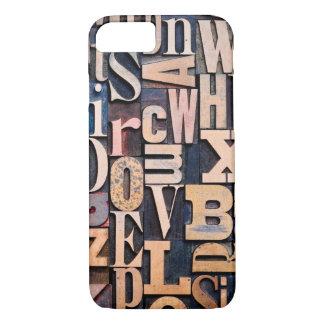 凸版印刷のタイプデザインとのiPhone 7の場合 iPhone 8/7ケース