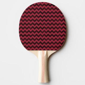 凸版印刷の木製の穀物のシェブロンパターン 卓球ラケット