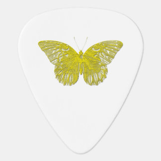 凸版印刷の蝶 ギターピック
