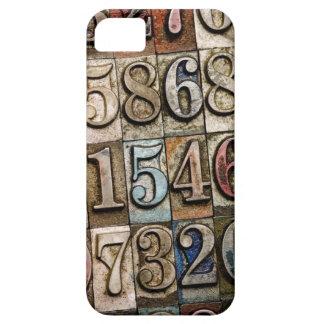 凸版印刷数デザインのiPhoneの場合 iPhone SE/5/5s ケース
