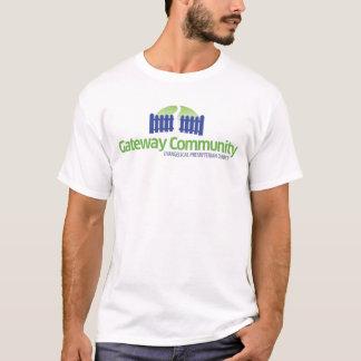 出入口のコミュニティロゴ Tシャツ