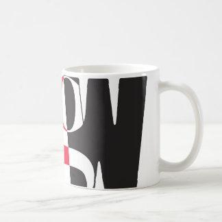 出入口の女性のマグ コーヒーマグカップ
