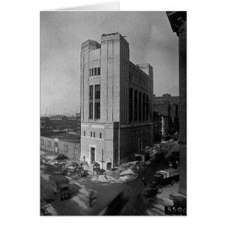出口シャフトのワシントン州の通りニューヨークシティ1928年 カード