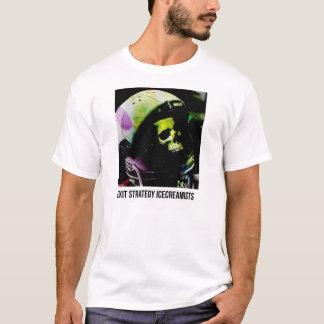 出口作戦のIcecreamistsの宇宙飛行士のワイシャツ Tシャツ