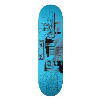 出口09.27.08のスケートボード 18.4CM ミニスケートボードデッキ
