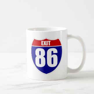 出口86のコーヒー・マグ コーヒーマグカップ