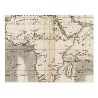 出口Afrique ポストカード
