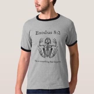 出国の8:2のカエル雨Tシャツ Tシャツ