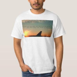 出国は…教えるべきです Tシャツ