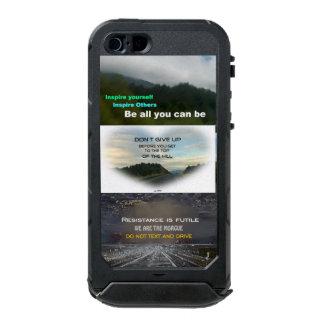 出張の多いビジネスマンの電話箱をあきらめないで下さい ウォータープルーフiPhone SE/5/5sケース