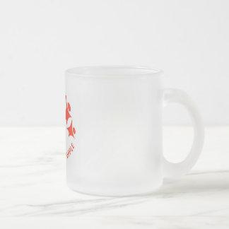 出版物のサポート多様性 フロストグラスマグカップ