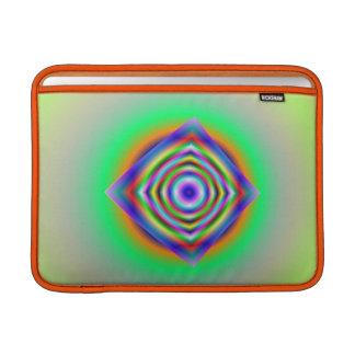 出現の虹のフラクタルのMacbookの空気箱 MacBook スリーブ
