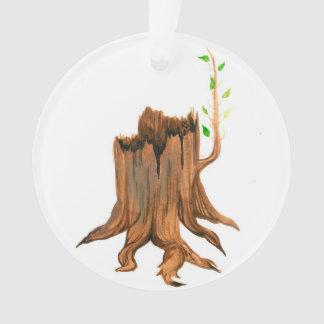 出現のJesseの木切り株 オーナメント