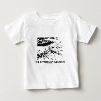出現(Dalmatian目の錯覚)のパターン ベビーTシャツ