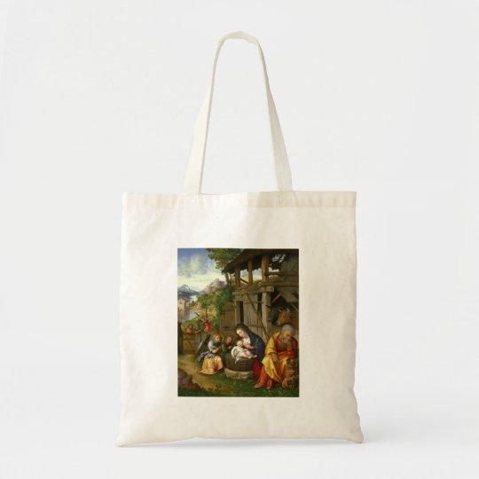 出生および子供の天使 トートバッグ