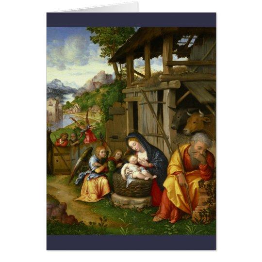 出生および子供の天使c1515 グリーティングカード