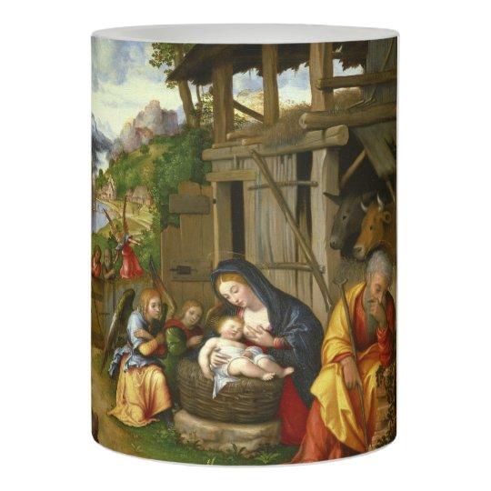出生および子供の天使c1515 LEDキャンドル