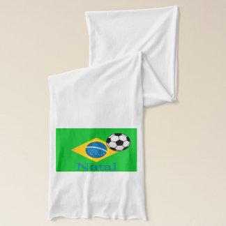 出生のブラジルの旗 スカーフ